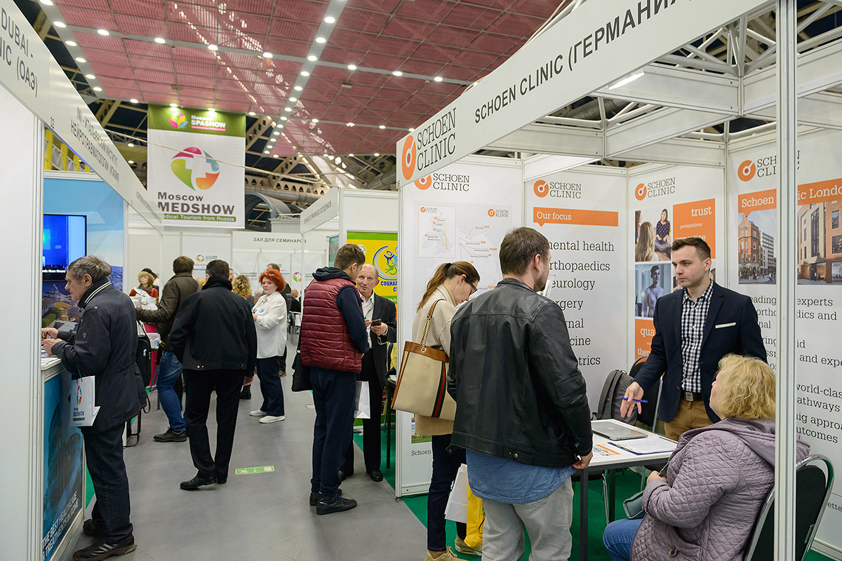 Exhibition Stand Evaluation : Moscow medical tourism exhibition on october